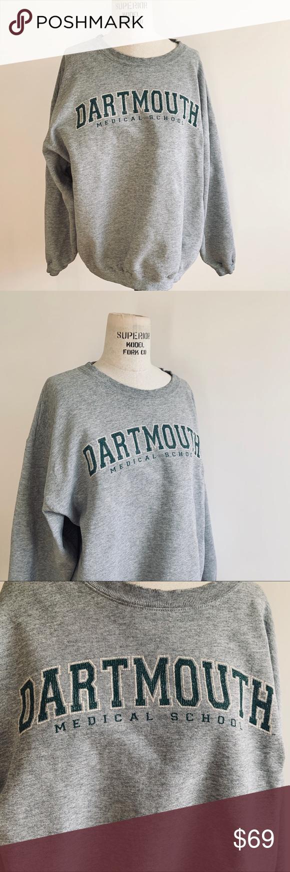 Sold Vintage Dartmouth Medical School Sweatshirt Vintage Sweatshirt School Sweatshirts Sweatshirts [ 1740 x 580 Pixel ]