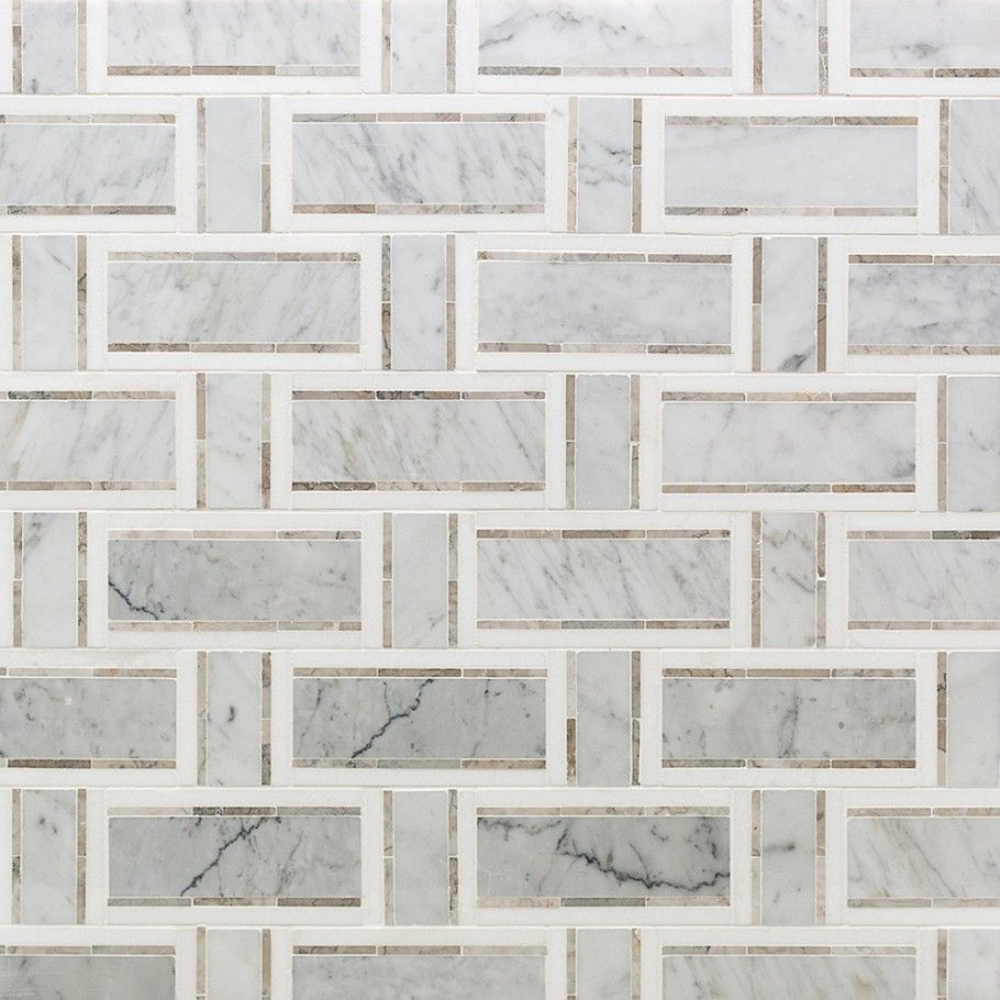 Hanna bathroom esplanade french linen marble tile tilebar stone tiles and mosaic tiles are perfect for kitchen and bathroom backsplashes available in many patterns blends visit the tile bar to shop today dailygadgetfo Images
