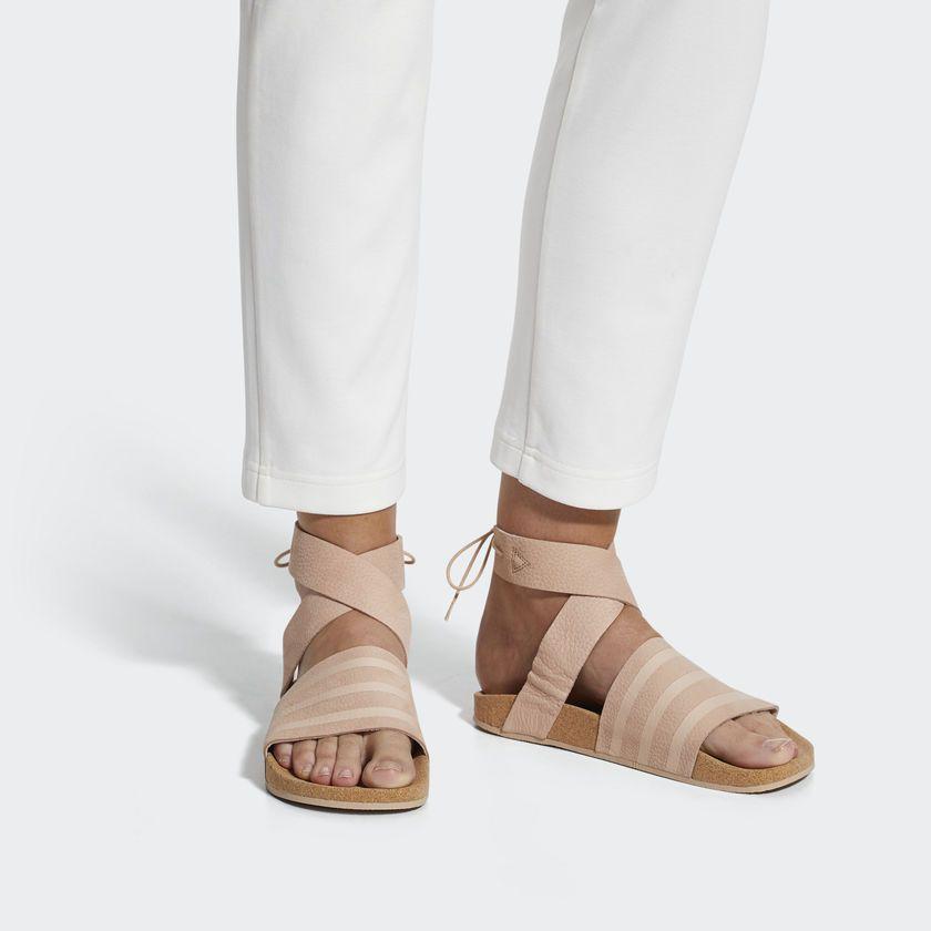 d21906cee0b adidas Women's Adilette Ankle Wrap Sandals - Ashpea | adidas ...