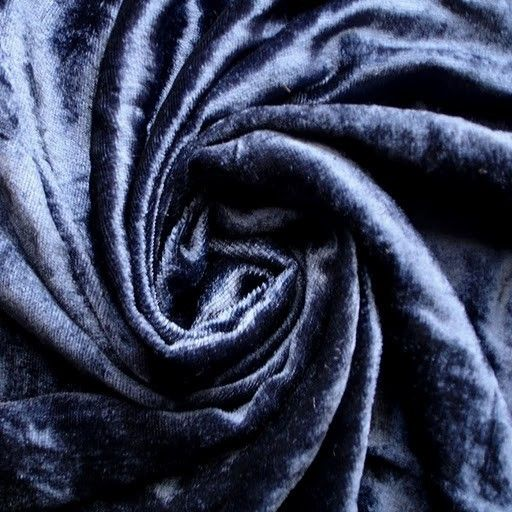 Navy Blue Velvet Fabric Yardage Fabric Curtain Fabric Fashion Velvet Upholstery Fabric Decorative Fabric Window Treatment Fabric By The Yard #velvetupholsteryfabric