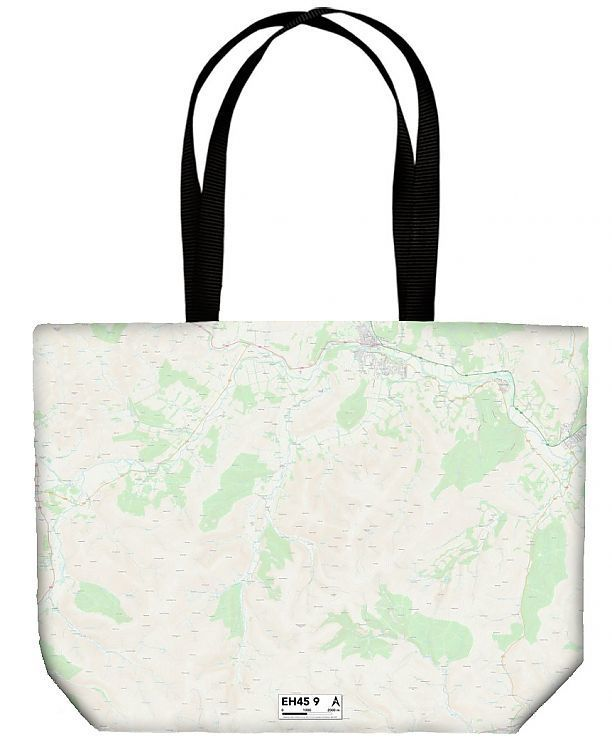 Shopping Bag Scottish Borders EH45 9 Map
