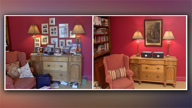 Katie Couric S Declutter Makeover Before After Photos Jeffrey
