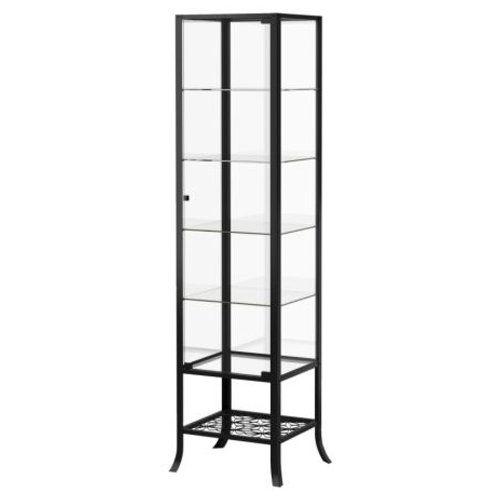 Ikea Klingsbo Glass Display Cabinet Lockable See This Great