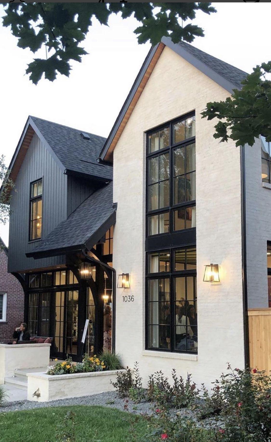 Pin By Anja Boye Kristensen On Housing Ideas Exterior Design Dream House Exterior Modern Farmhouse Exterior House Exterior