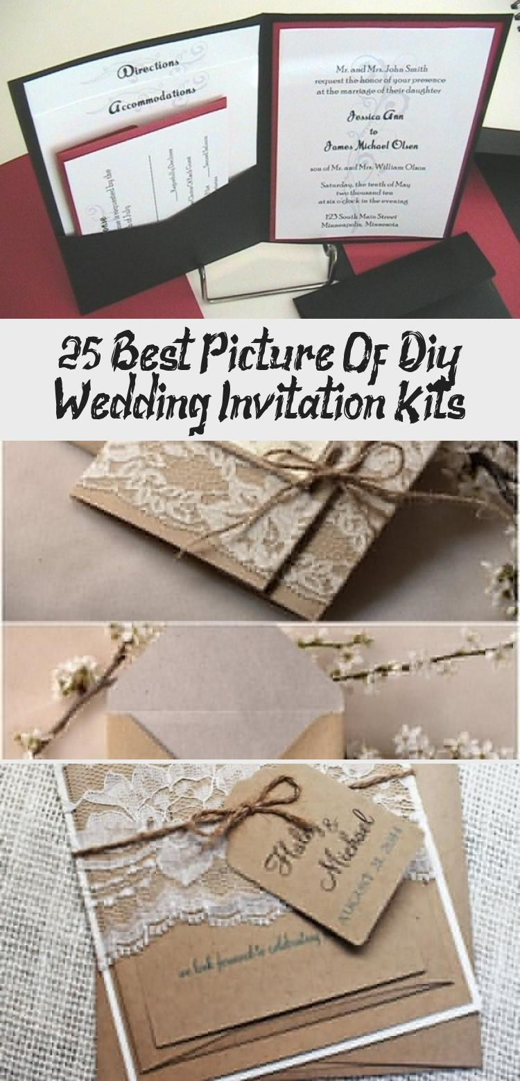 25 Best Picture Of Diy Wedding Invitation Kits Diy Wedding Invitation Kits Wedding Invitations Diy Wedding Invitations Diy Rustic