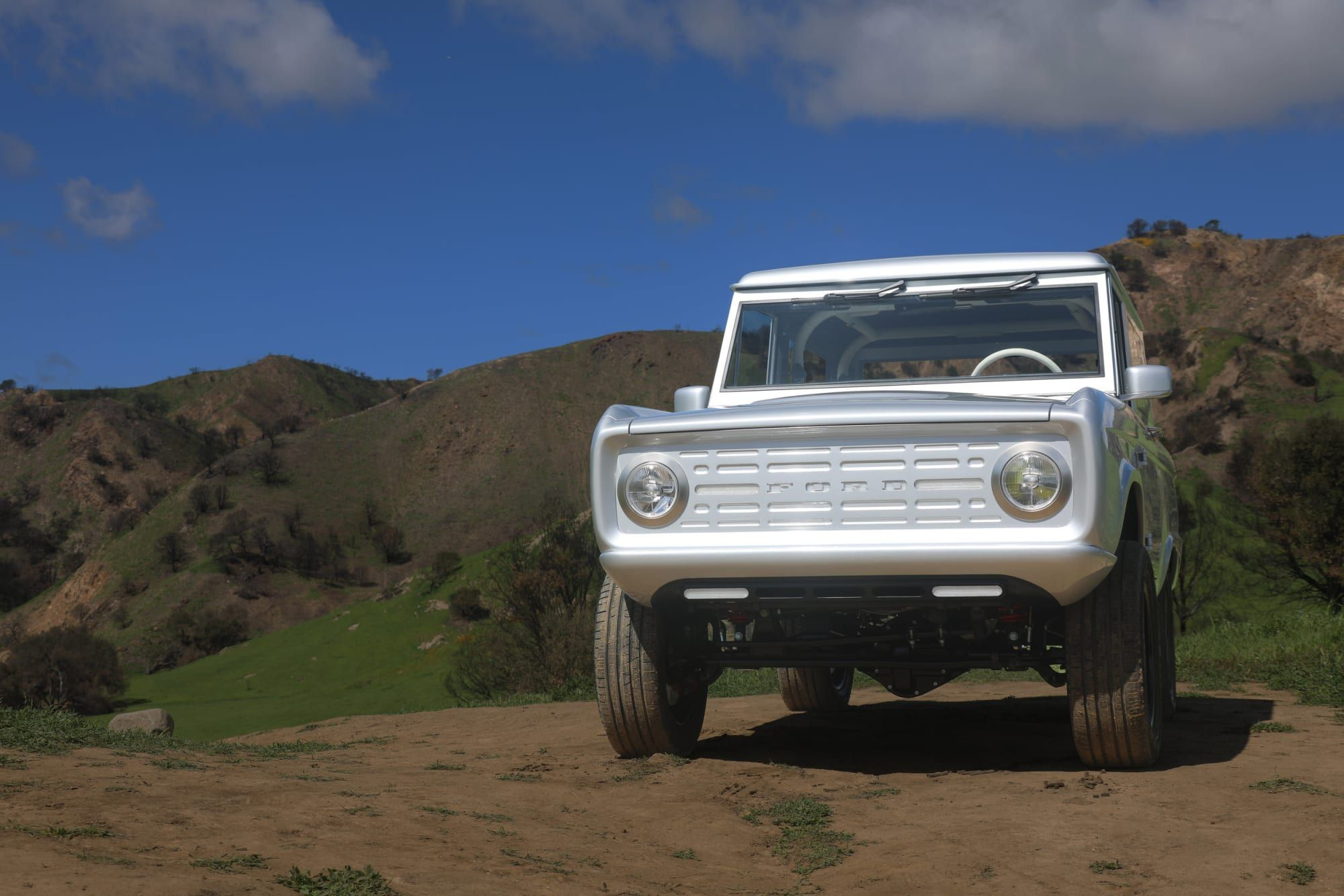 Electric Ford Bronco By Zero Labs Classic Ford Broncos Ford