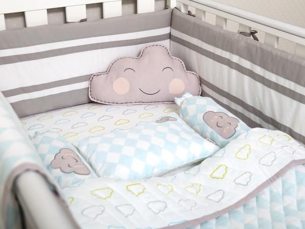 Our cot bedding collections feature adorable characters, signature prints and super soft organic cotton Indian fabrics that add just the right amount of comfort and playfulness to your baby's nursery. Includes 1 x Baby Pillow 2 x Bolsters 1 x Baby Dohar Blanket OR Baby Quilted Blanket 1 x Fitted Cot Sheet 1 x Shape Cushion Features  Tips+ This adorable multi-colour collection is gender neutral and works well in any nursery. + A great gift bundle for a newborn or a baby shower gift for a new…