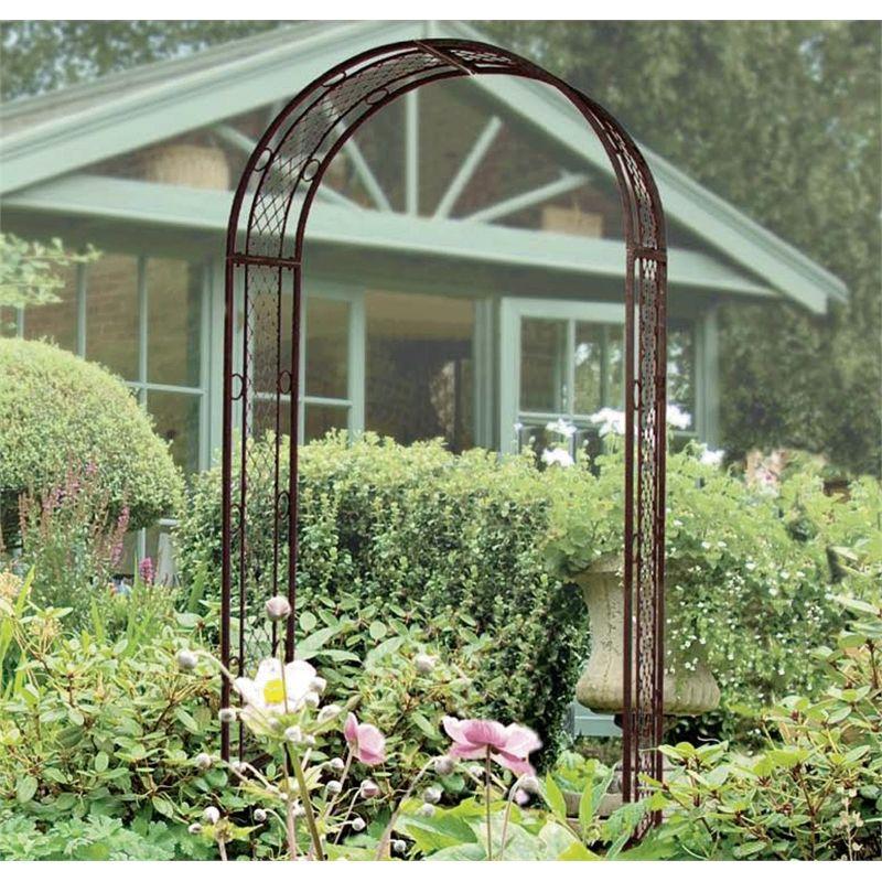 gardman edwardian garden arch 199 bunnings