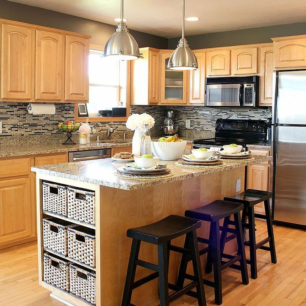 Kitchen Wall Color Ideas With Oak Cabinets: Going Gray {Gray Kitchen}