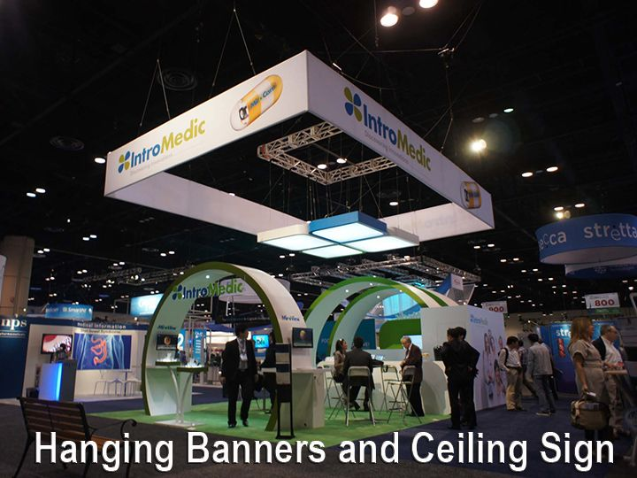 Tradeshow Hanging Sign Banner Ceiling