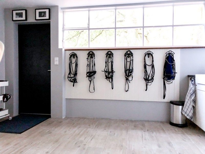 A Tack Room In Germany With A Place For Everything Tack