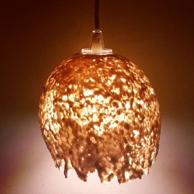 Ceramics Furniture Design Italiandesign Paperclay Paperclayart Faience Light Lamp Lampshade Lighting Ceilinglampinteriorsartpotteryitaly