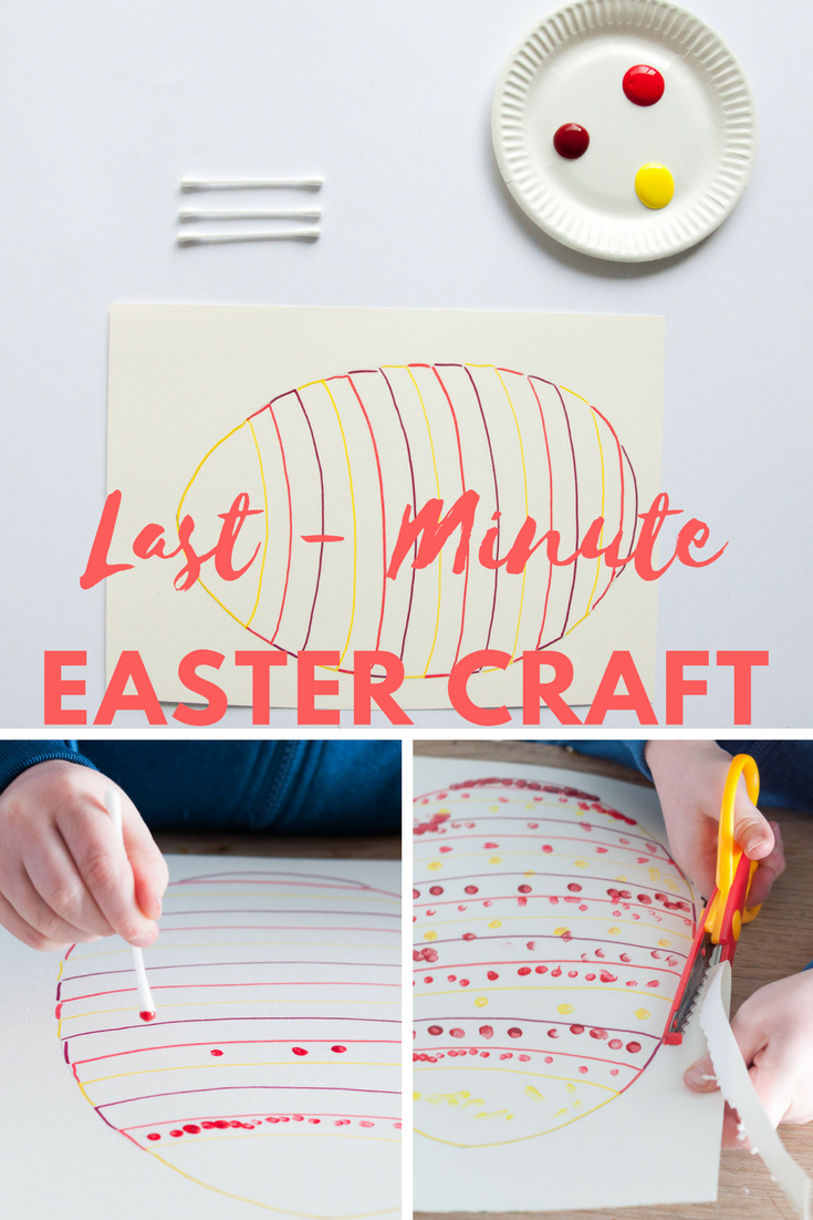 Easy Diy Tips For Easter Craft With A Four Year Old Craft Easter