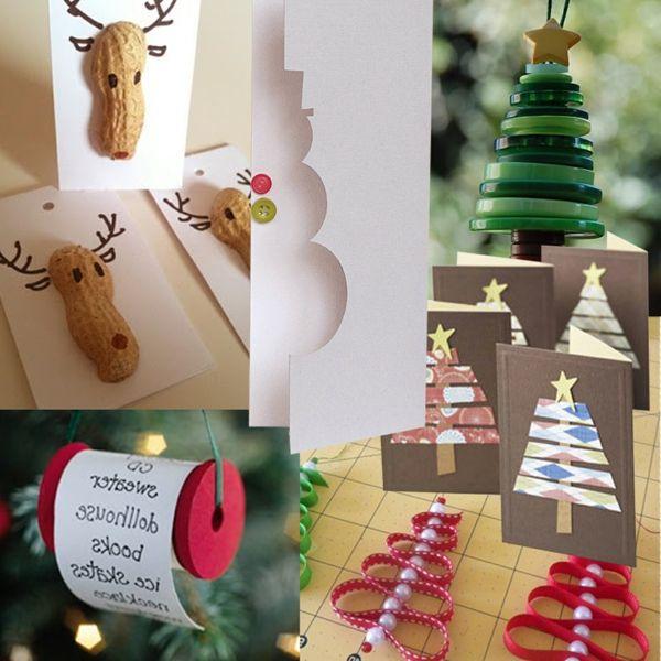 Bastelideen Zu Weihnachten Rentiere Nussschalen. Bastelideen Weihnachten Weihnachtsdeko ...