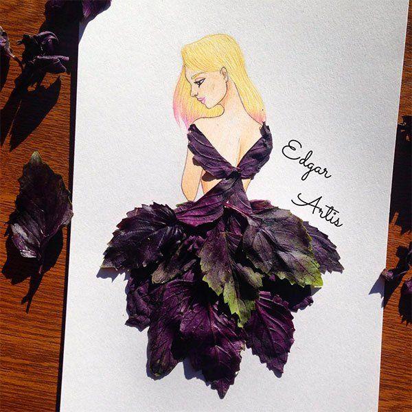 Amazing Paper Cut-out Dresses by Armenian Artist Edgar Artis
