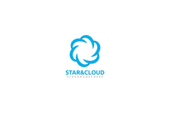 Star & Cloud Logo@creativework247