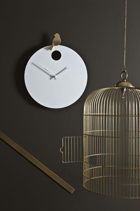 Happy bird orologi a muro diamantini domeniconi for Decorare muro stanza