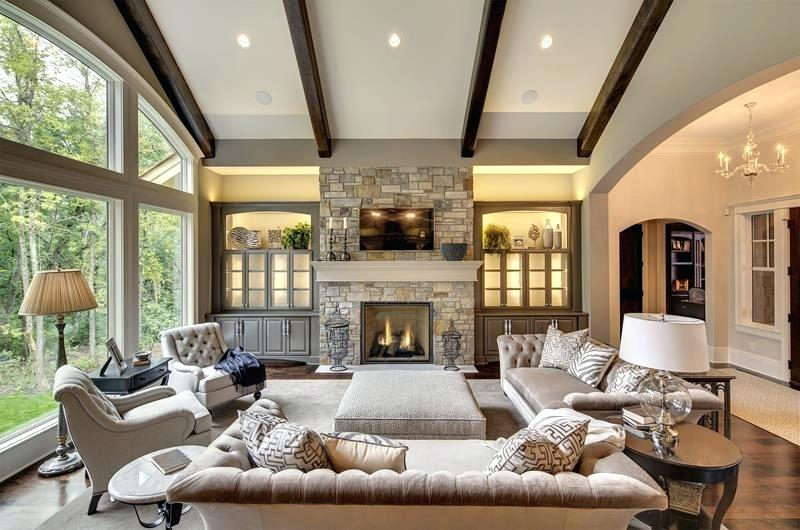 Beautiful Corner Fireplaces Google Search In 2021 Transitional Living Room Design Luxury Living Room Trendy Living Rooms