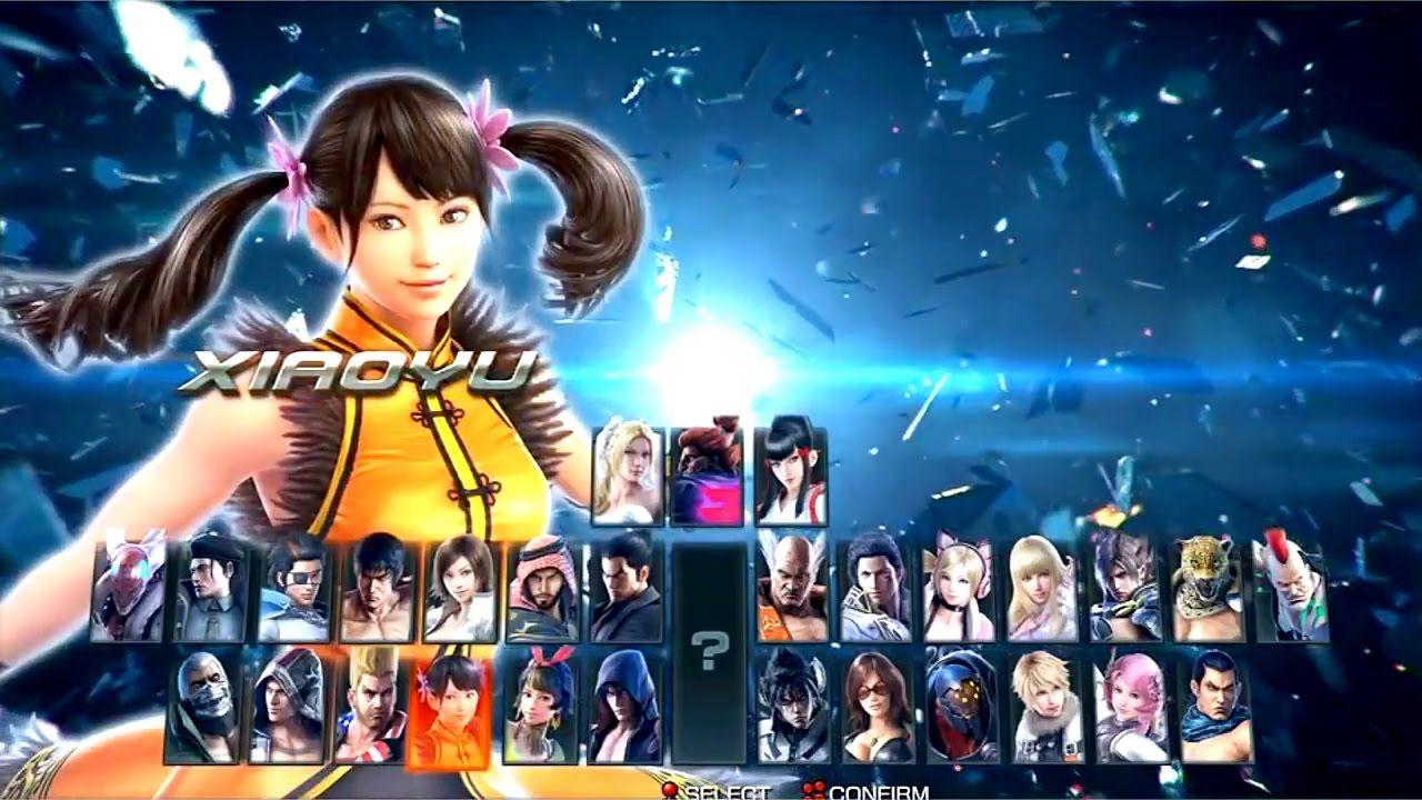 Tekken 1 To 7 All Character Select Screen 1994 2017 Tekken 1
