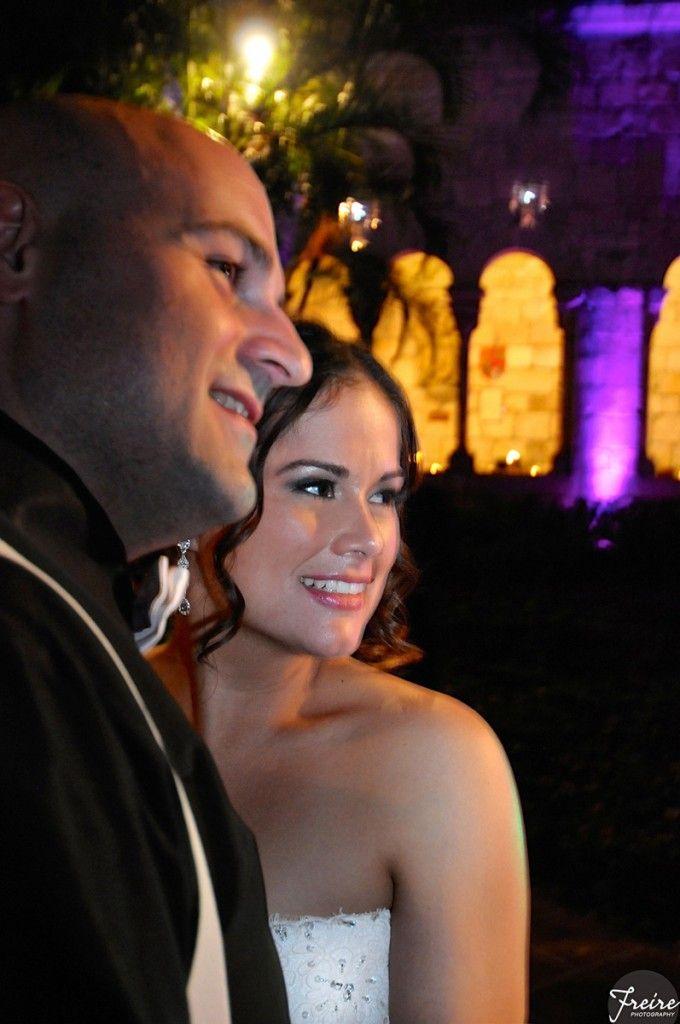bride and groom dreamy #wedding portrait