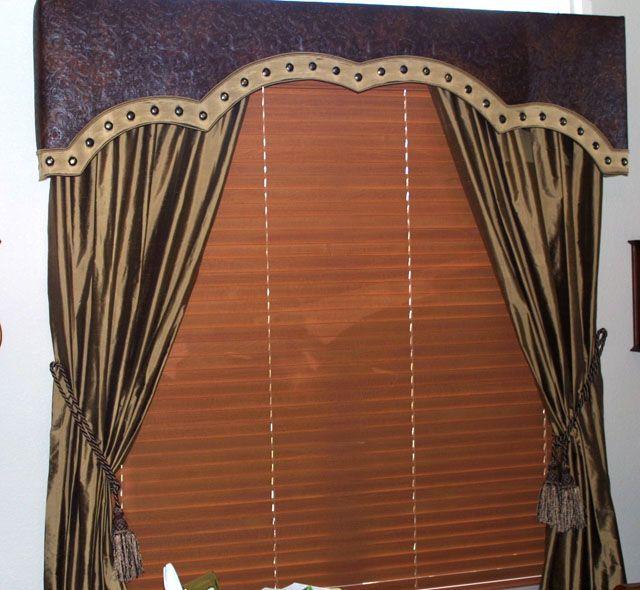 leather window treatment | Window Wear | Pinterest ...