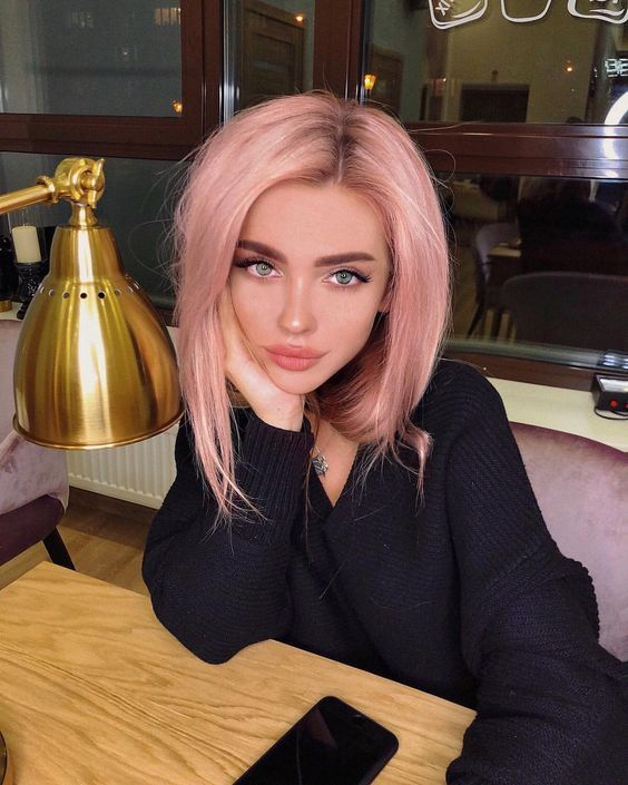 5 Pastel Pink Hair Color Ideas for 2019 : Take a look! -   11 dyed hair Pastel ideas