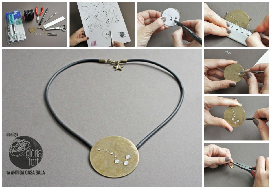 Constellation necklace _ Gloria Fort