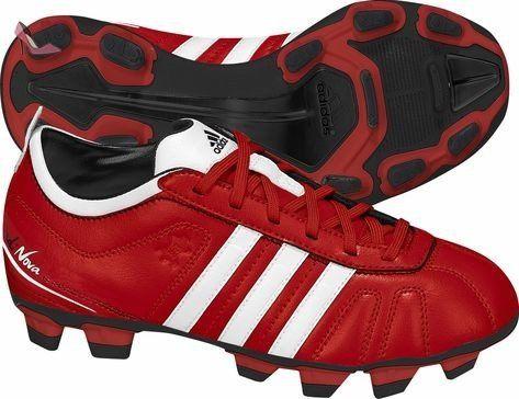 online store 6f57a 73584 Adidas adiNova iV tRX fG chaussures de football pour enfant - Rouge -  Rouge, 38