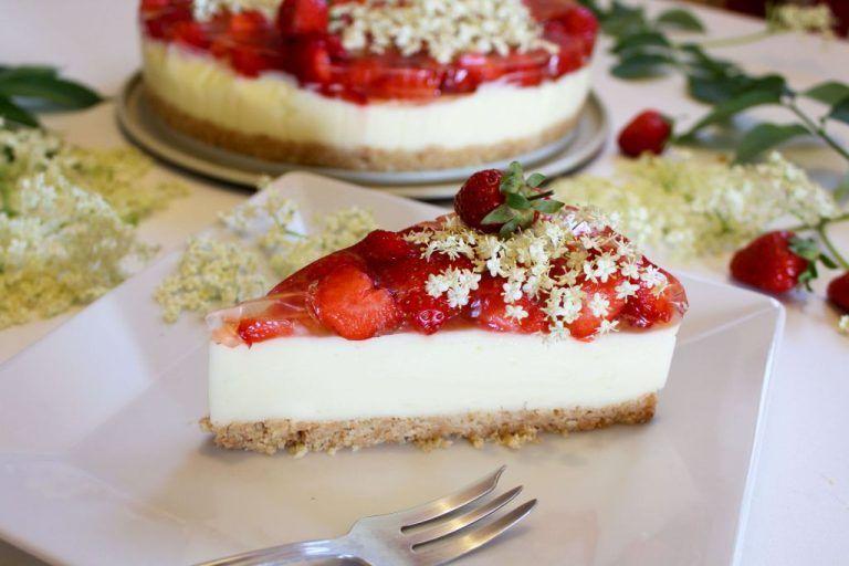 Sommerkuchen Rezepte : Cheesecake mit erdbeeren ohne backen u beste rezepte kuchen in