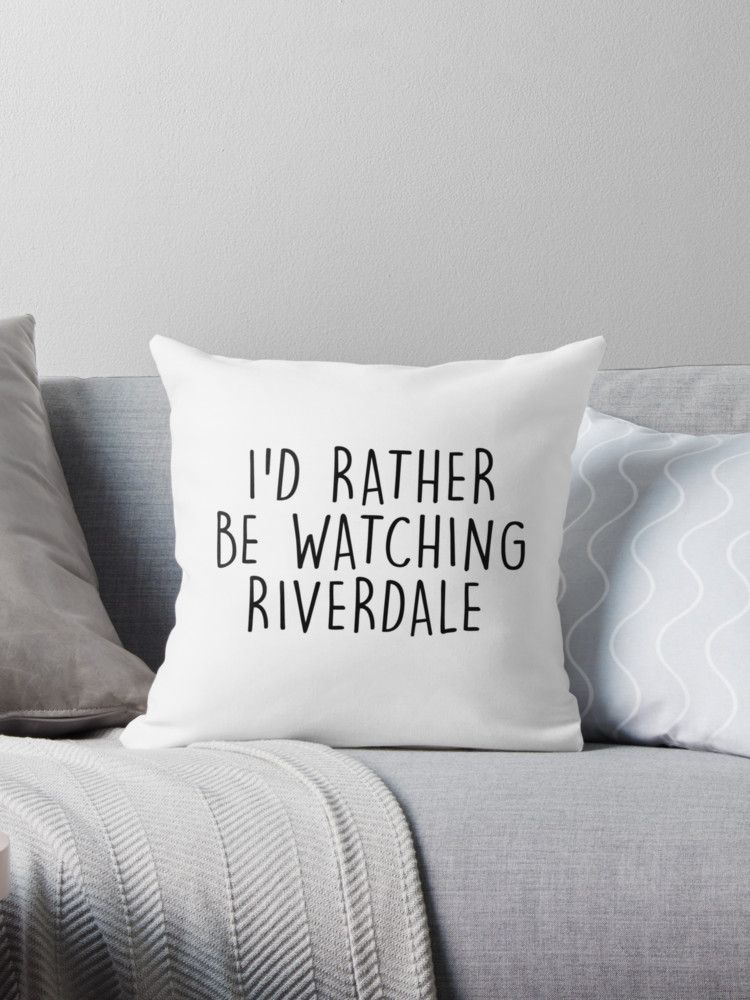 Riverdale Throw Pillow By Jughead Jones In 2019 Room Ideas