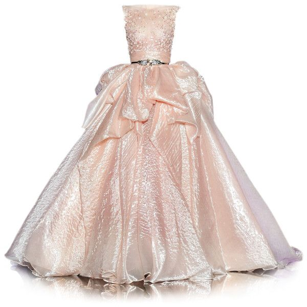 Satinee Polyvore Com Doll Parts Collection Pink Evening Dress Pink Evening Gowns Ball Dresses