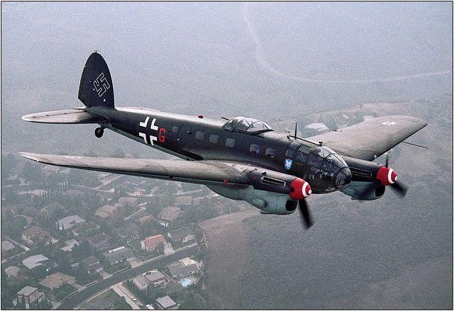 Heinkel He 111 Casa 2 111 Fighter Aircraft Aircraft Military Aircraft
