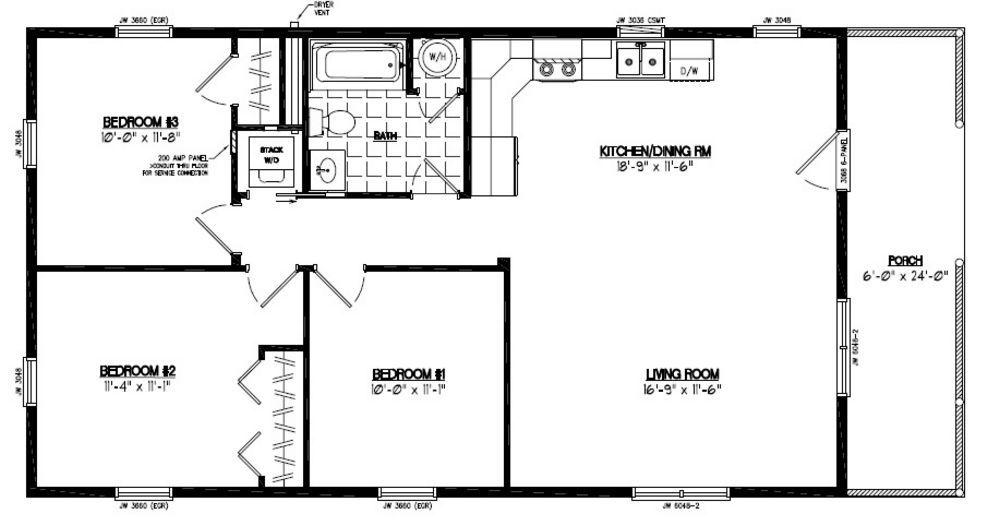 24 X 32 Floor Plans | 32 X 24 House Plans Des Photos, Des Photos