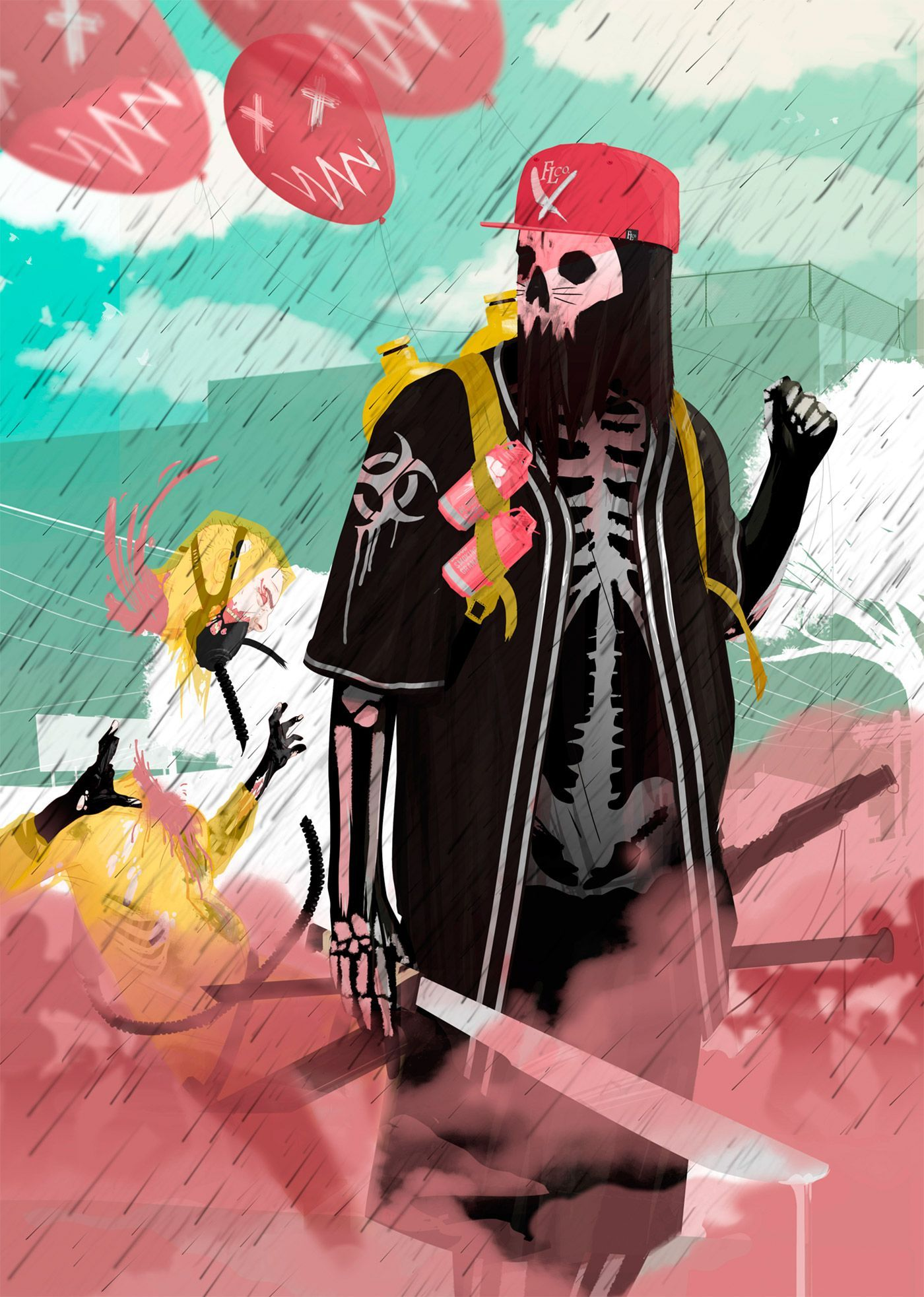 New Illustrations By Daniel Caballero