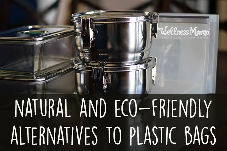 Natural and Eco-Friendly Alternatives to Plastic Bags | Alternative to plastic bags. Wellness mama. Eco friendly cleaning products