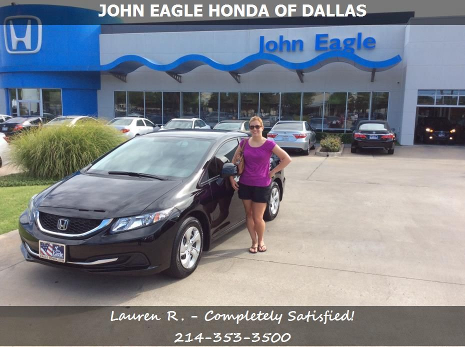 Lauren Records reviews her Honda Civic purchased from Michael Burk