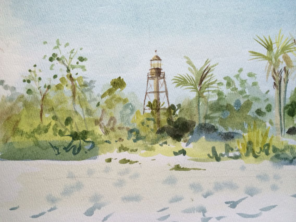 Pin By Maggii Sarfaty Fine Art On Sanibel Island Art Watercolor
