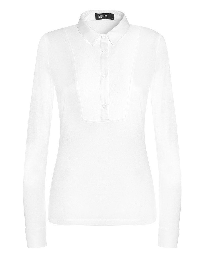 bcf3623bd French Cuff Layering Shirt could this be the perfect white shirt? Double  cuffs, jersey at the back £78