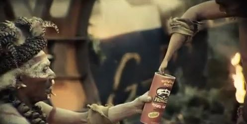 Tribe With Tiny Hands Get Passionate AboutPringles
