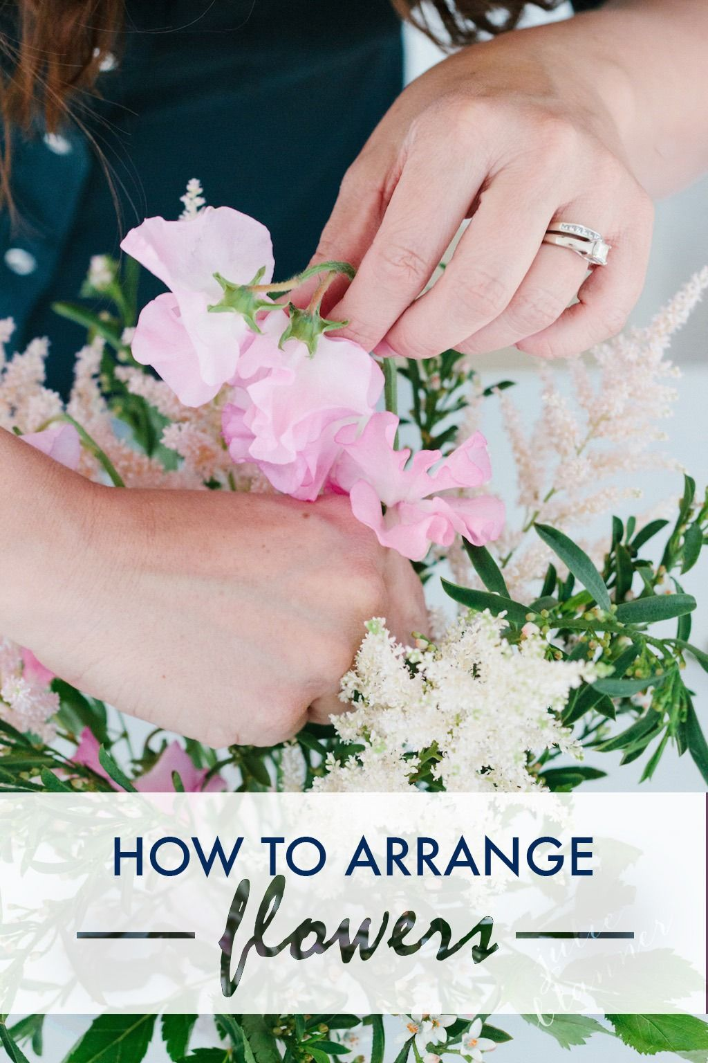 Learn how to create a beautiful flower arrangement for your next party centerpiece or hostess gift in just 15 minutes with this step-by-step tutorial!