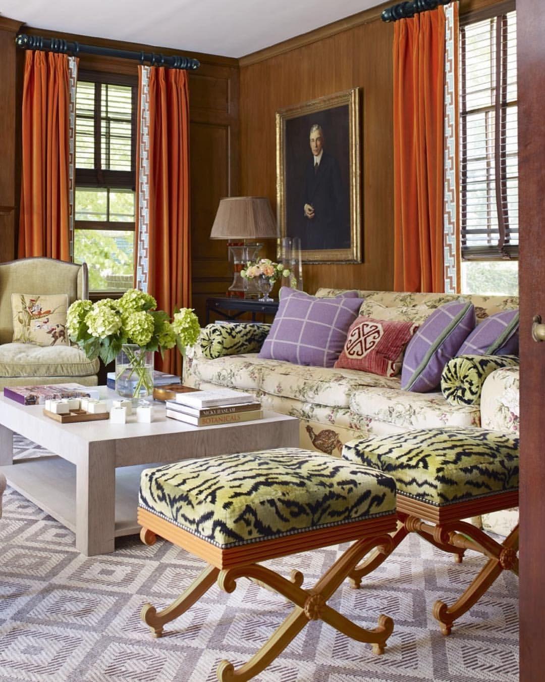 Oak Paneled Room: Southerners Have An Affinity For Oak Paneled Rooms. Half