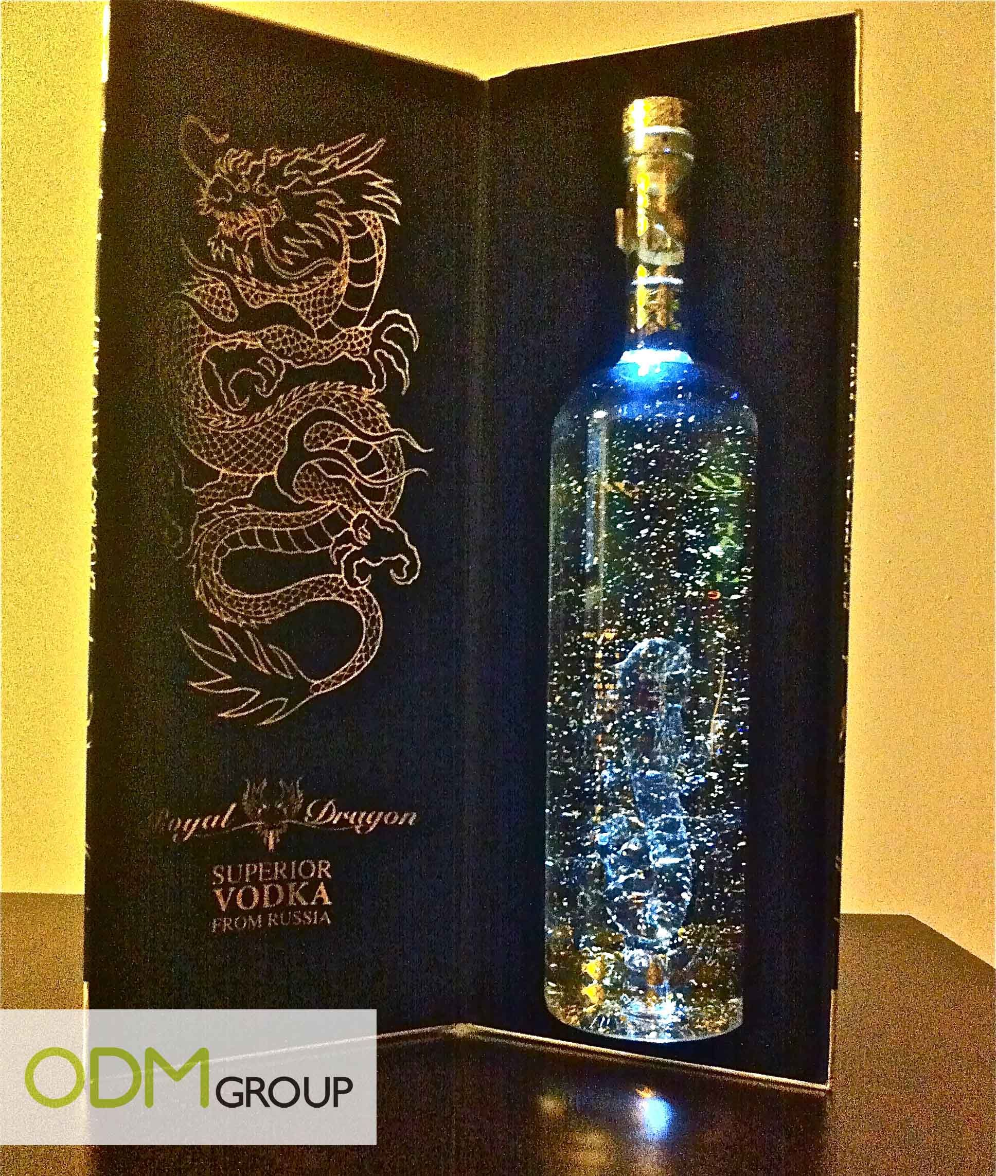 royal dragon vodka  u2013 amazing packaging