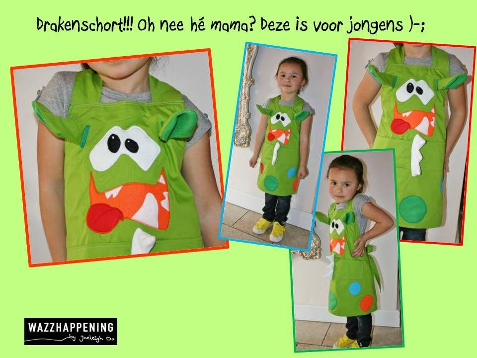 #Keukenshort in Draken stijl via www.wazzhappening.nl