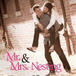 "Movie ""poster"" wedding invitation"