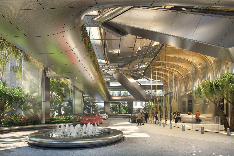 Galeria De Zaha Hadid Architects Projeta Novo Complexo De Escritorios No Centro De Hong Kong 10 Zaha Hadid Zaha Hadid Architects Zaha Hadid Design