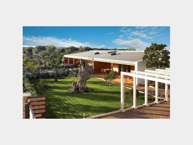 Bungalow casablanca einfamilienhaus von rubner haus ag for Bungalow haus modern