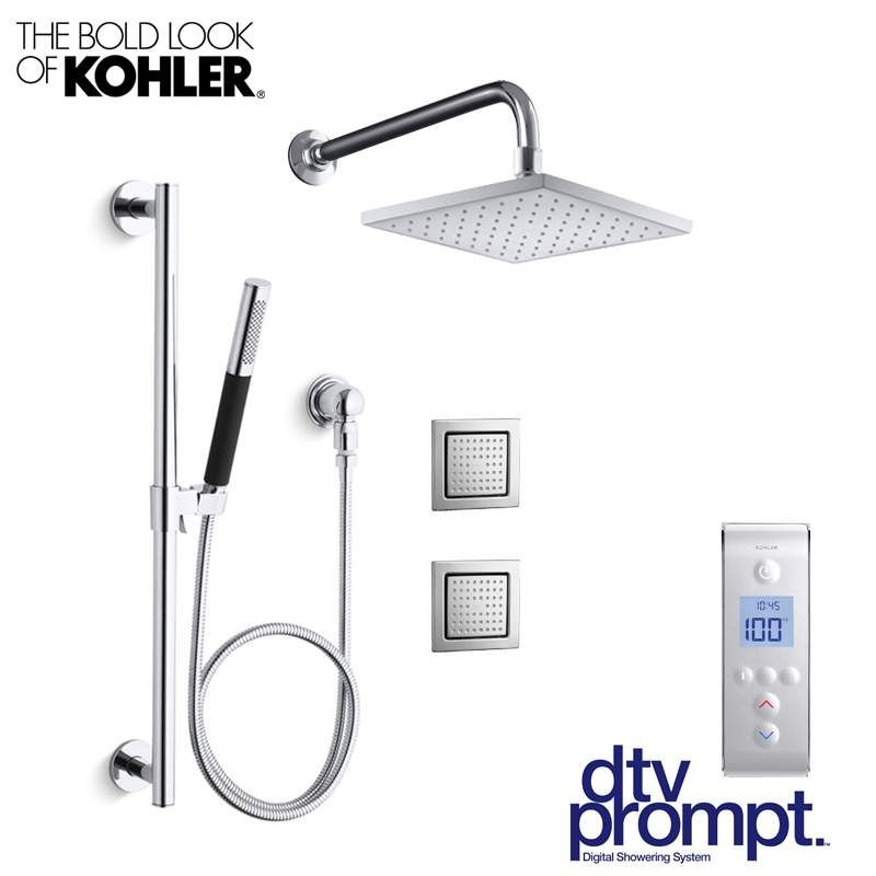 Kohler Dtv Prompt Cs Sp2 Shower Systems Shower Heads Multi