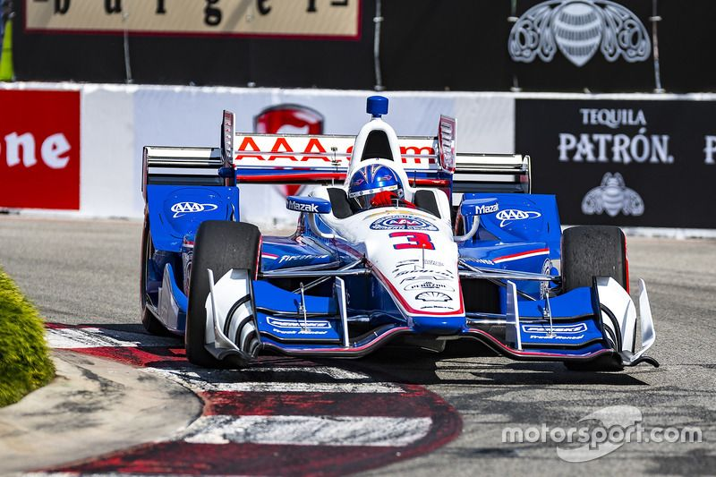 Helio Castroneves, Team Penske Chevrolet Indy cars