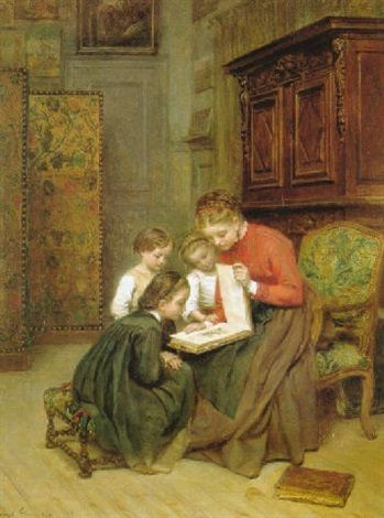 The family album by Pierre Edouard Frère