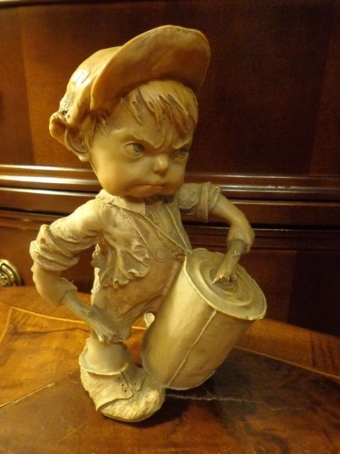 Capodimonte style Giuseppe Armani Gulliver's World figurine boy #Figurines